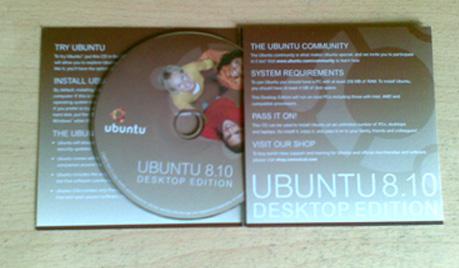 ubuntu 8.10CD封面图